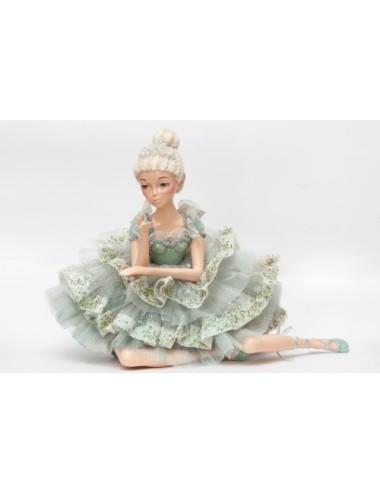 Kwiat Sztuczny Eustoma Pudrowy Róż