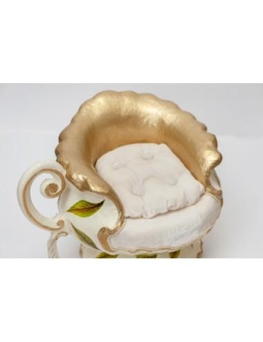 Kwiat Sztuczny Szafirek Niebieski
