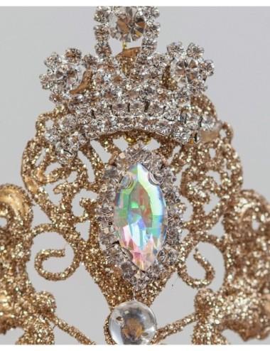 Kwiat Sztuczny Irys Strzępiasty Krem