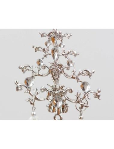 Kwiat Sztuczny Magnolia Róż