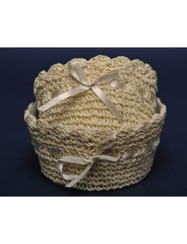 Lampiony Tea Light Okhto zestaw 4 sztuk