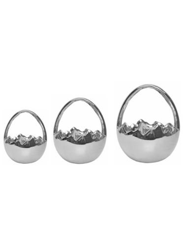 Zegar stołowy metal