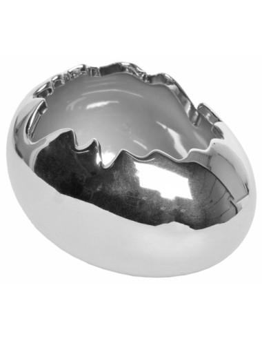 Zegar ścienny 2- stronny 21 cm biały