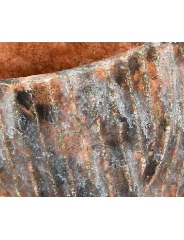 Stół rng okrągły gold/brown